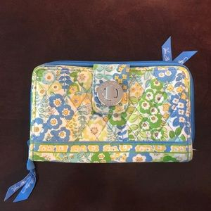 Vera Bradley English Meadow Wallet RETIRED